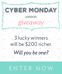 Enter the Jane.com Cyber Monday Giveaway!