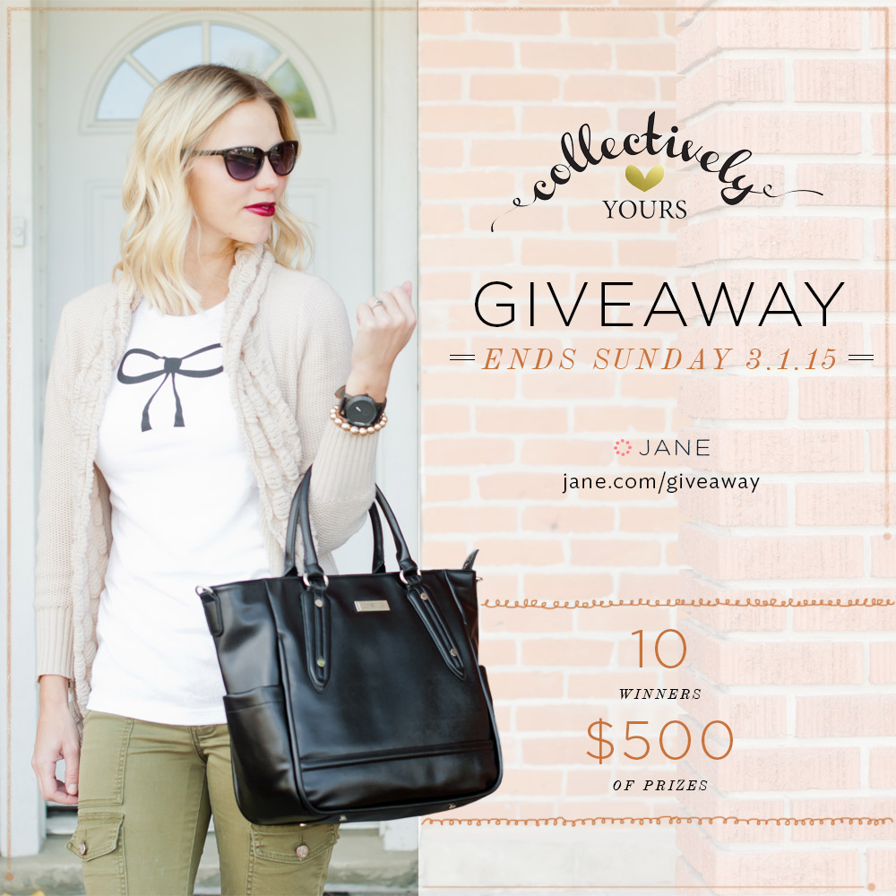 Jane.com + Collectively Yours #Giveaway - $500 in Prizes!