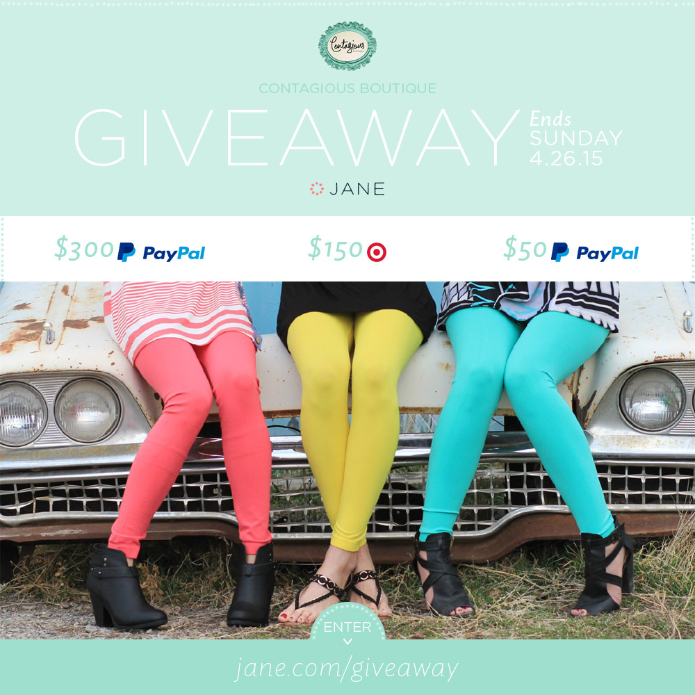 Jane.com + FContagious Boutique #Giveaway - $500 in Prizes!