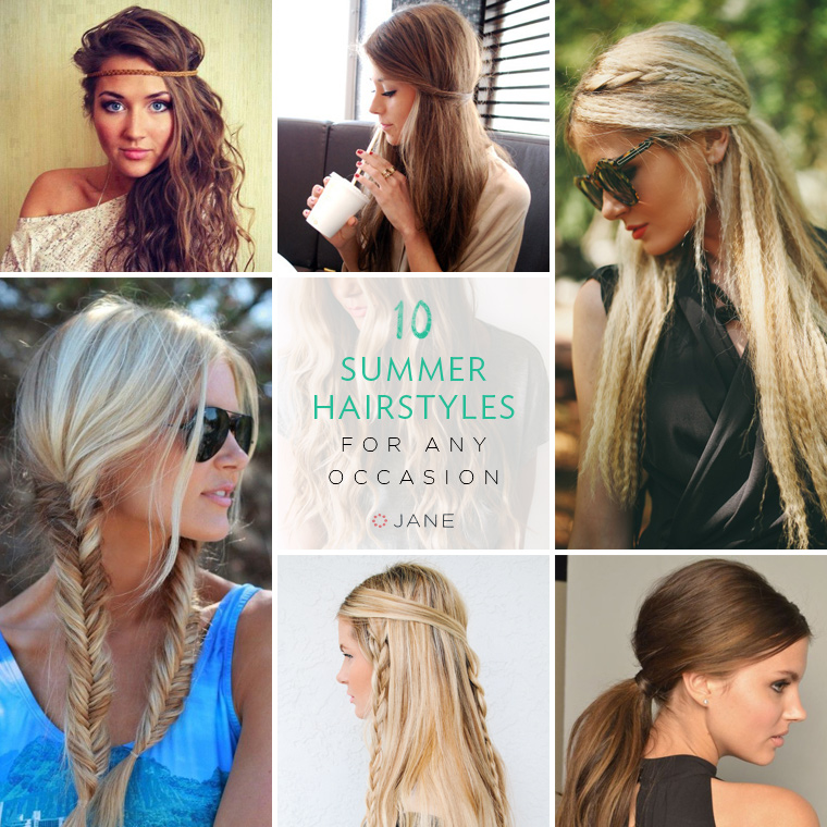10 Summer Hairstyles For Any Occasion - Jane Blog Jane Blog