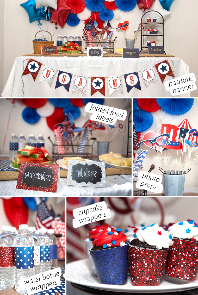 4th of July Printable Hop