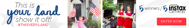 Enter our #ThisVeryLand 4th of July Photo Contest
