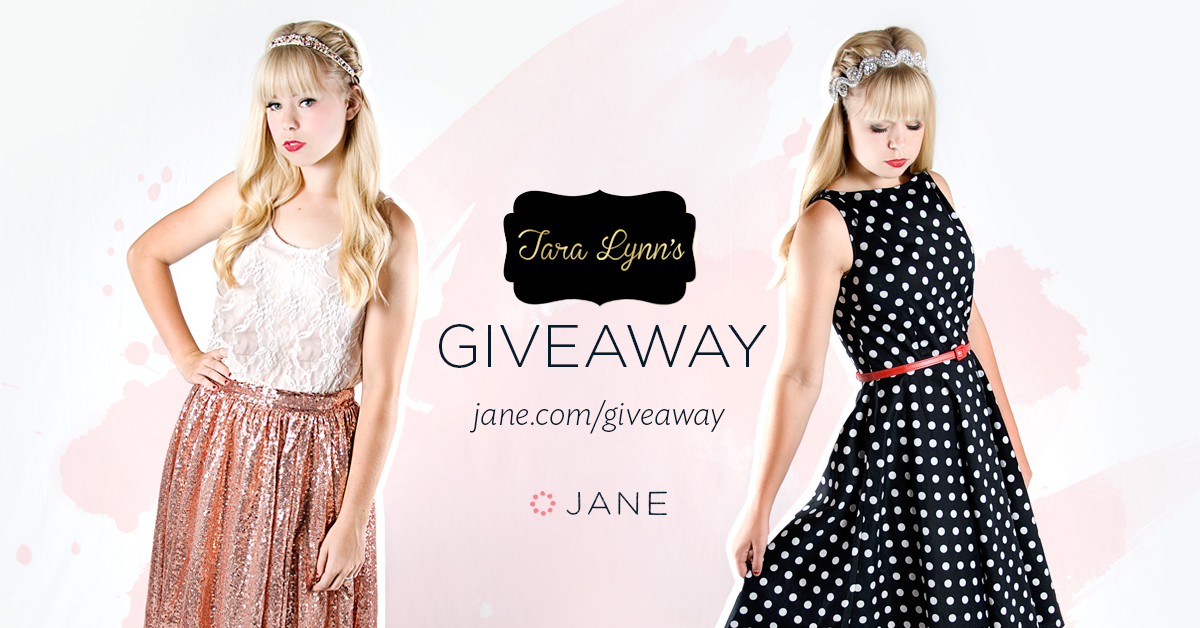 Jane.com + Tara Lynn's Boutique #Giveaway - $575 in Prizes!