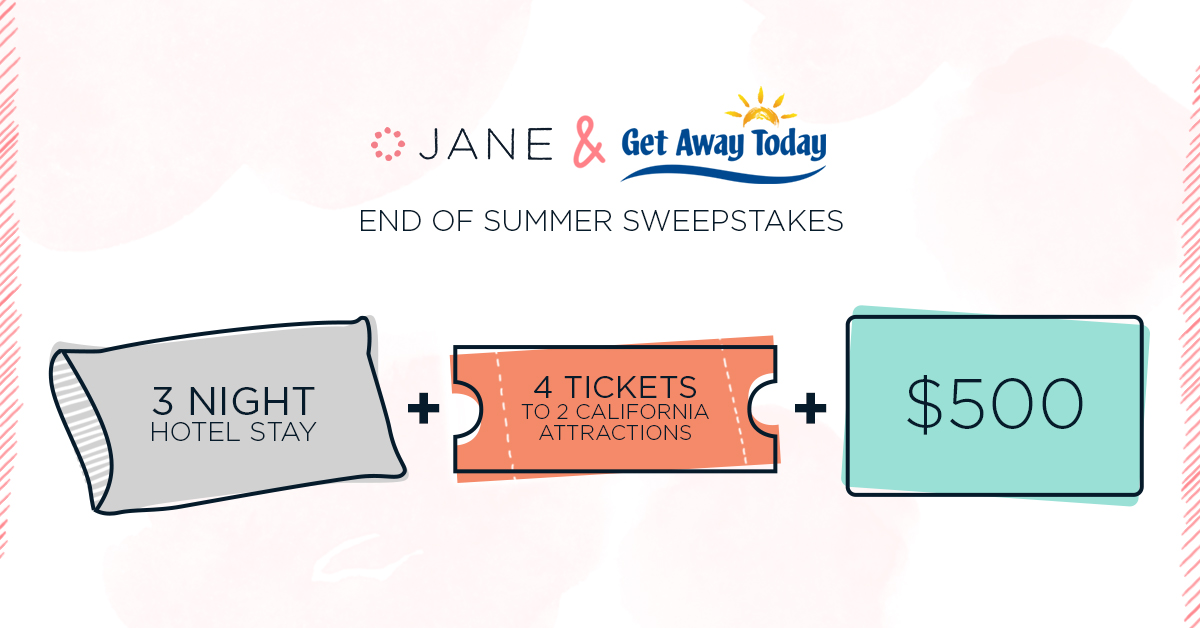 Jane.com End of Summer #Sweepstakes - $2,000 Value!