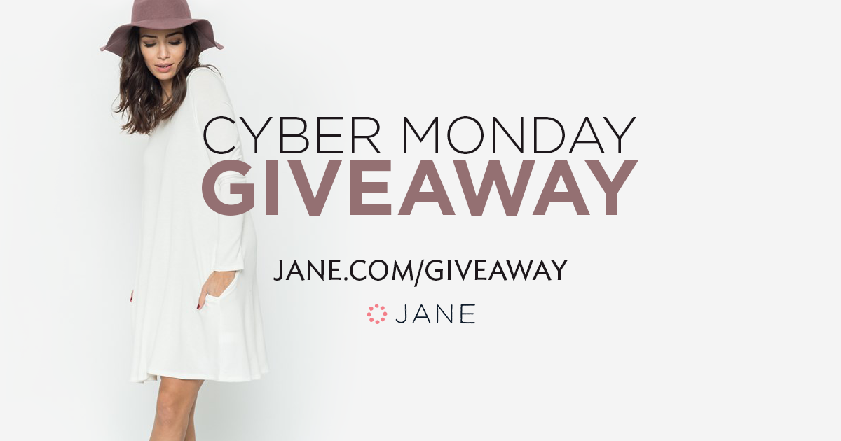 cyber monday sweepstakes cyber monday giveaway winners so perla giveaway jane 7826