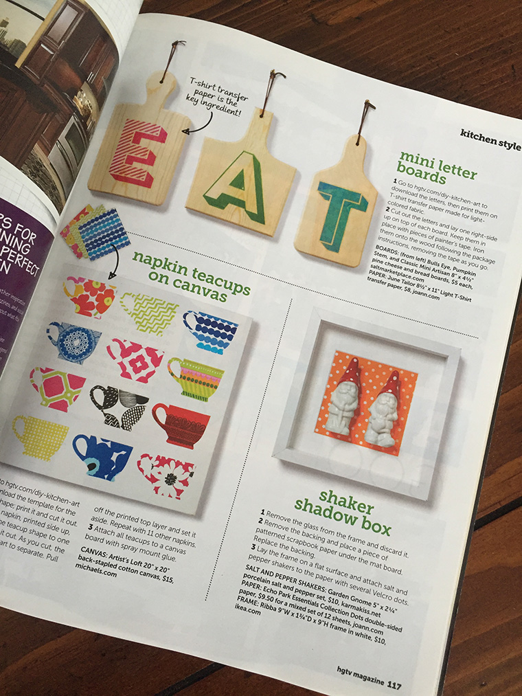 Salt Markeplace in HGTV Magazine