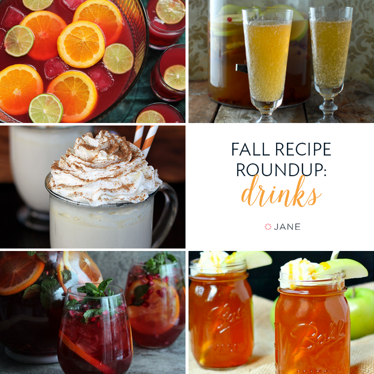Jane.com Fall Recipe Roundup: Drinks