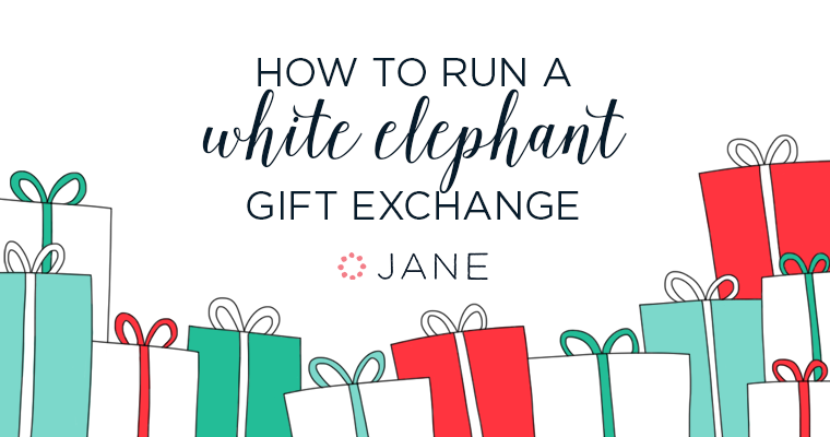 How to run a white elephant gift exchange jane blog jane blog how to run a white elephant gift exchange negle Choice Image
