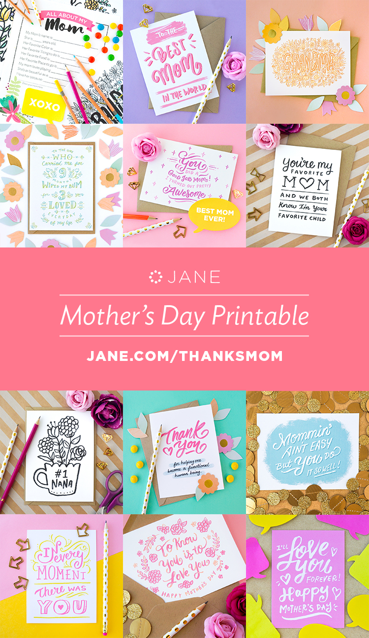 free mothers day printables weve got you or your husband covered