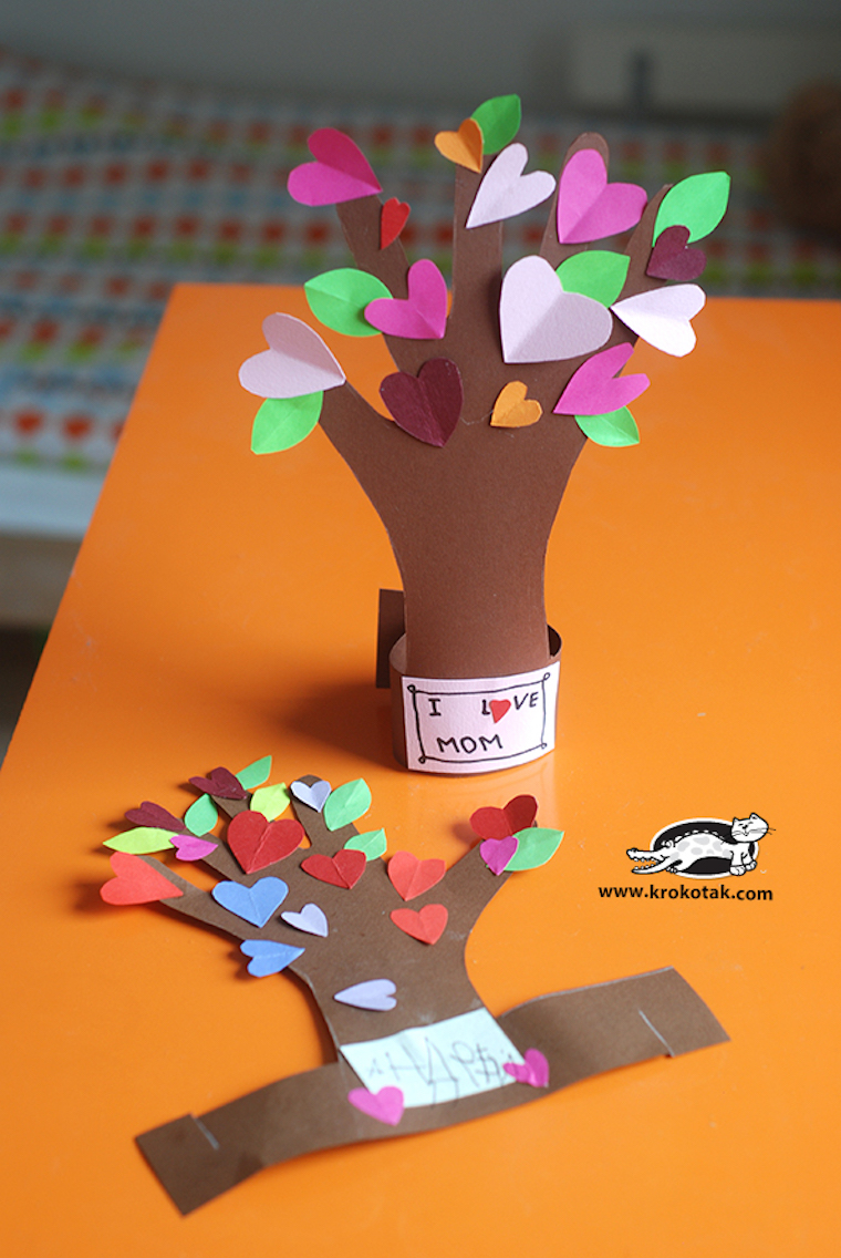 Flowering Tree From Your Child's Hand