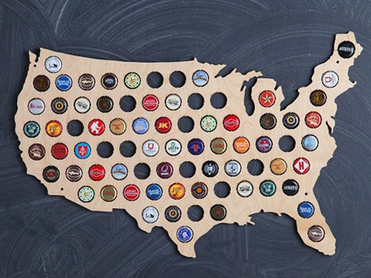 Sneak Peeks Fathers Day Gift Ideas Jane Blog Jane Blog - Us beer cap map