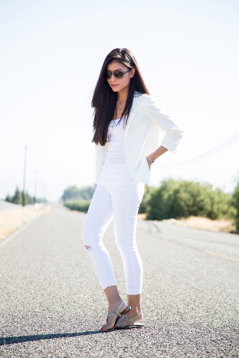 stylishly me white jeans