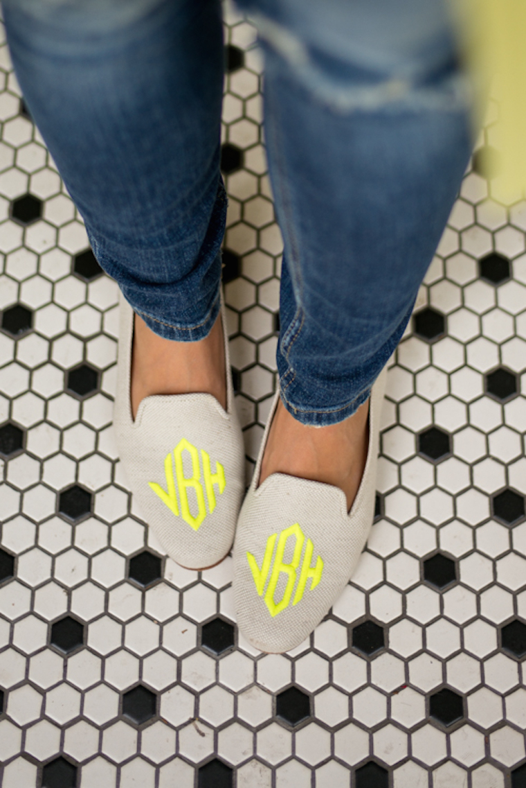 monogram stubbs and wootton loafers