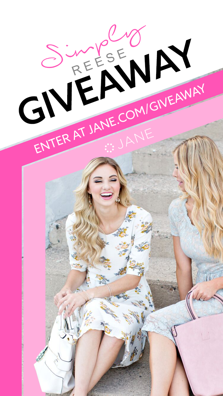 Jane.com + Simply Reese $500 Giveaway