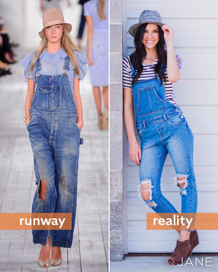 overalls runway to reality fashion