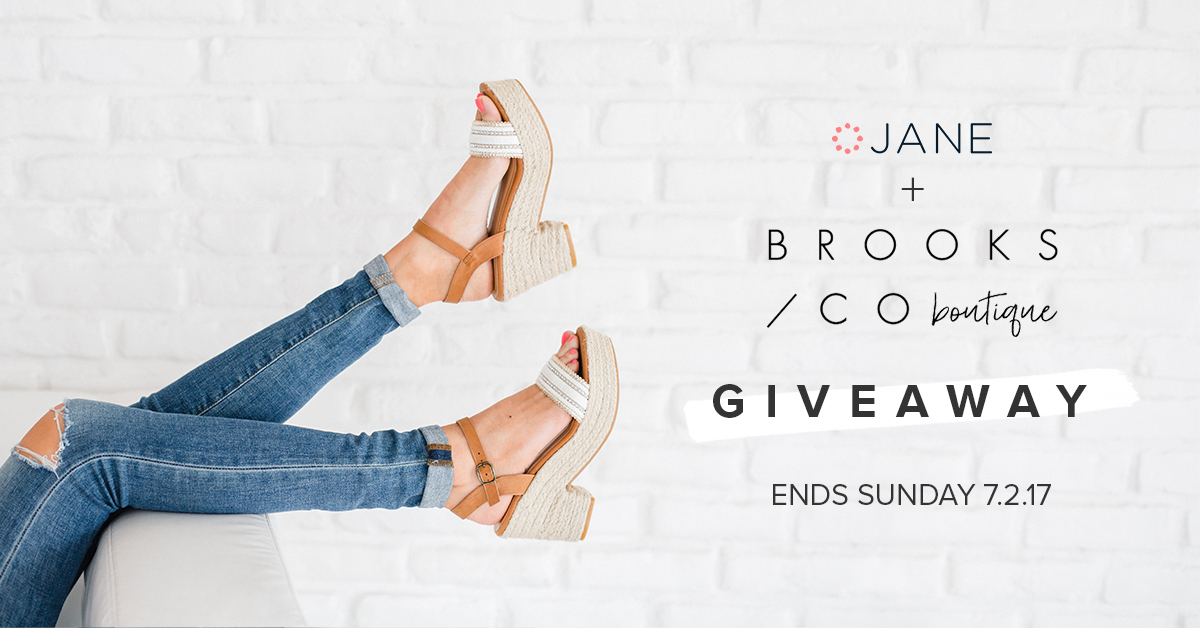 Brooks Co. Boutique Giveaway on Jane.com
