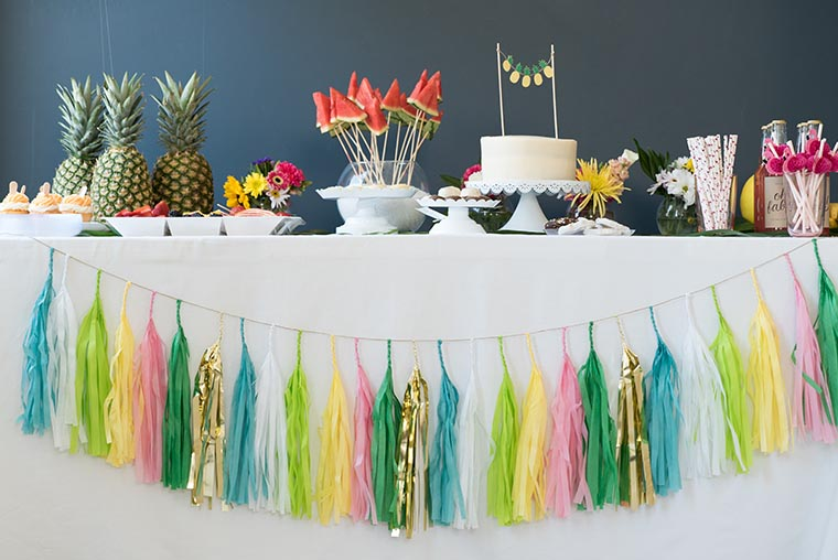 how to throw a tropical baby shower jane blog