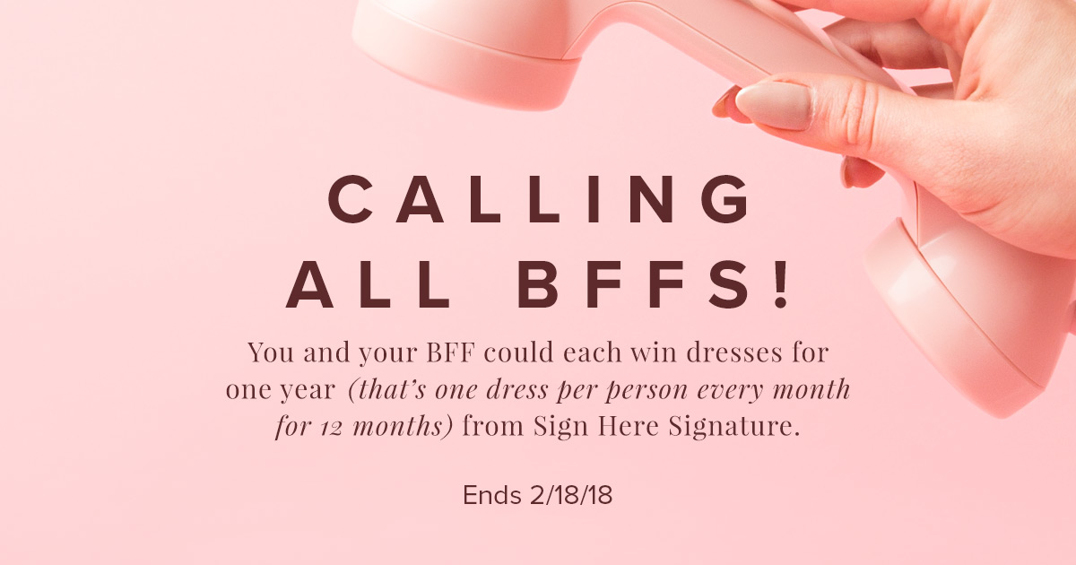 Sign Here Signature Giveaway on Jane.com