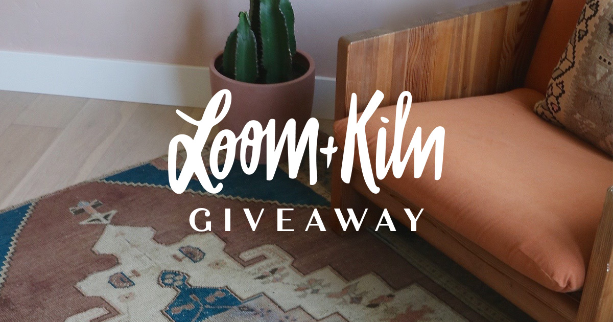Loom & Kiln Giveaway on Jane.com