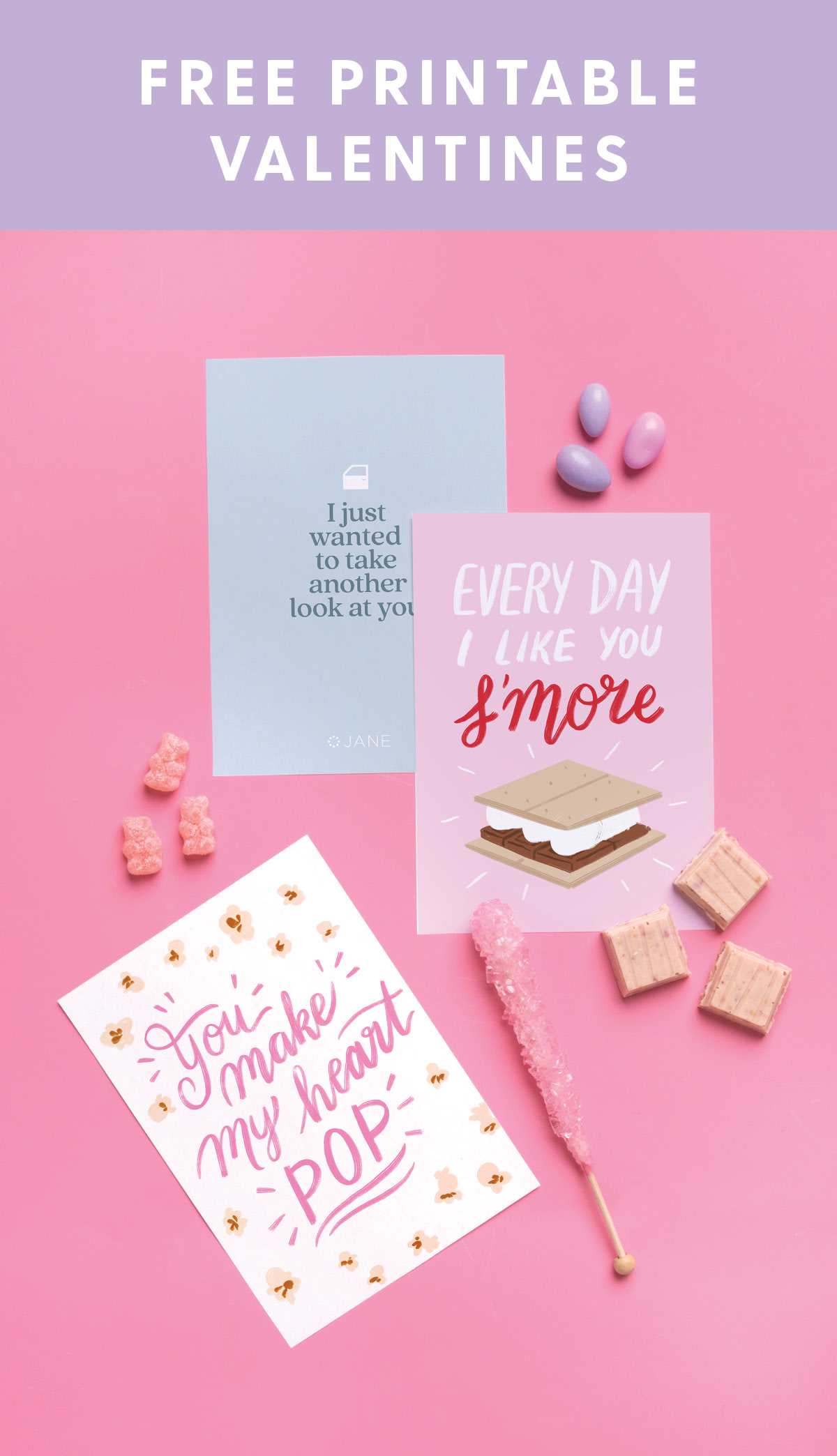 Valentine's Day Printable for Kids from Jane.com