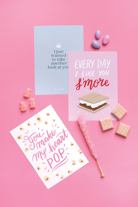 Valentine's Day Printables for Kids from Jane.com