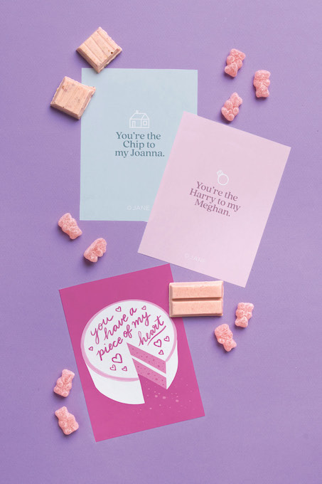Valentine's Day Printables for Grown-ups from Jane.com