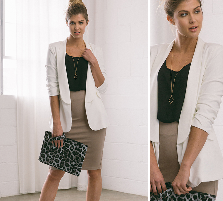 pencil-skirt-tank-blazer