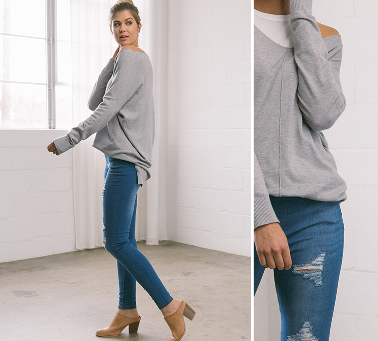 pullover-sweater-blue-jeans