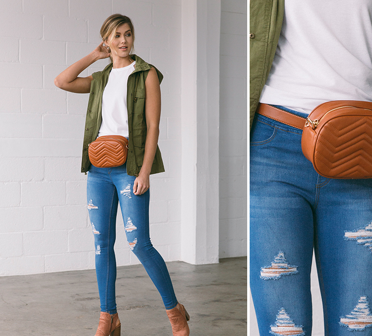 leather-fanny-pack-blue-jeans-vest-white-tank
