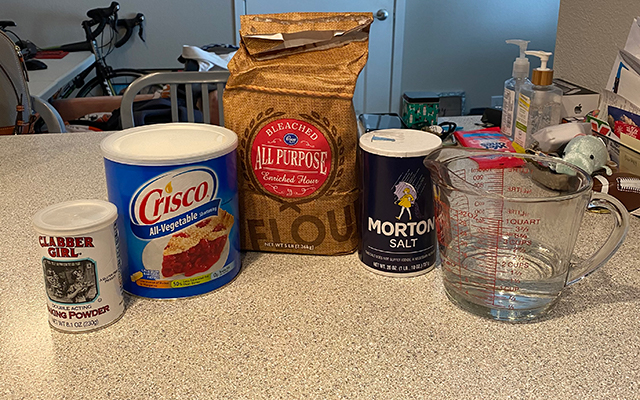 home made tortilla ingredients