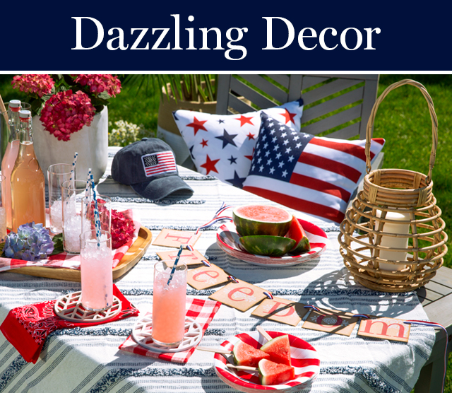 dazzling 4th of july decor