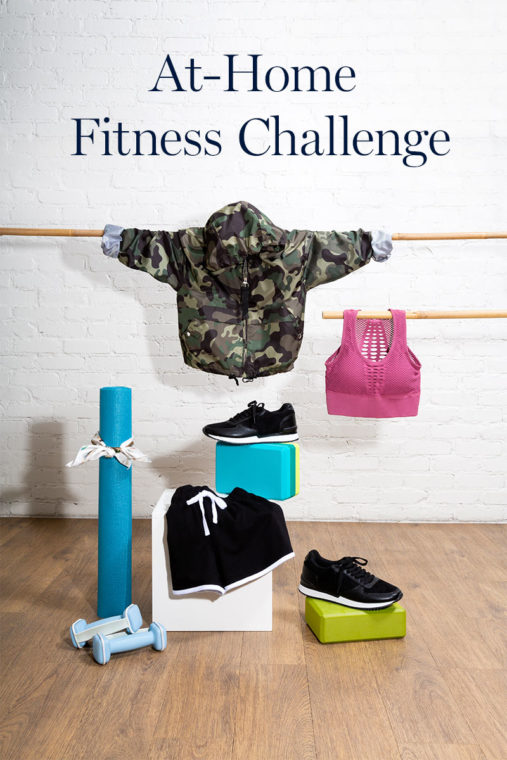 at-home fitness challenge
