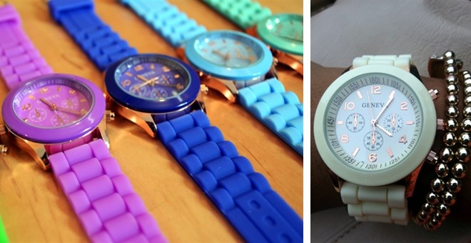 Geneva Watches – 15 Color Options!!