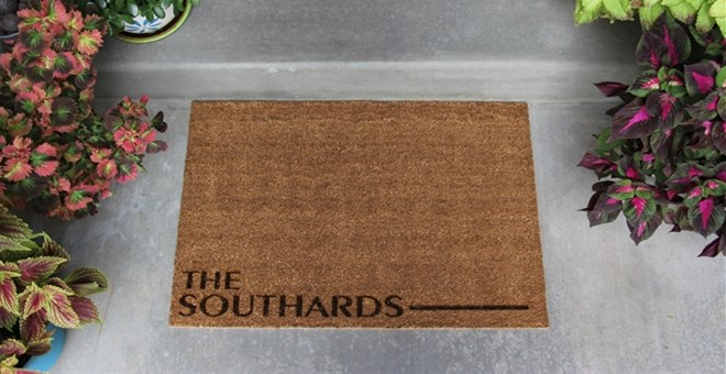 Personalized Door Mats Southard Style Jane
