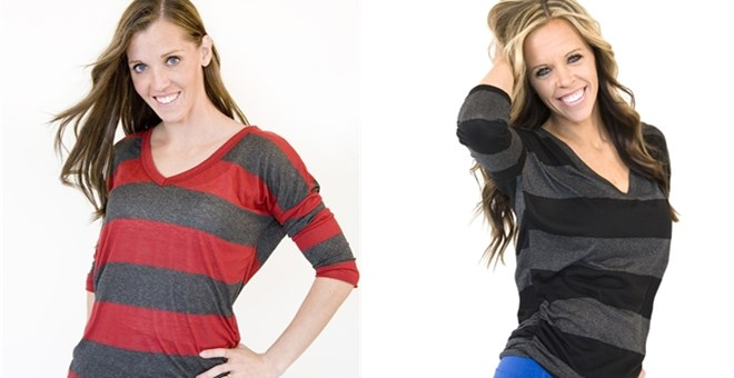 Round Neck and V-Neck Tee's- Perfect layering shirt!
