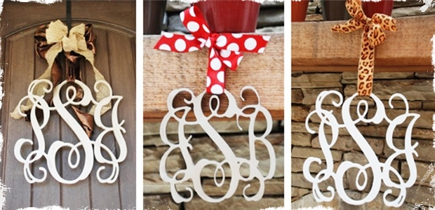 beautiful wooden monogram home decor 3 large letters jane
