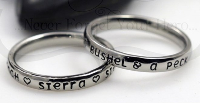 Personalished Rings