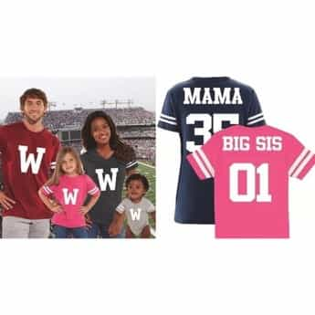 family football jerseys