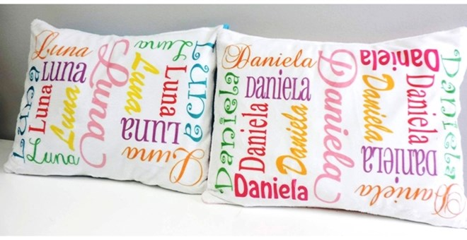 Double Sided Minky Pillow Insert Included Jane