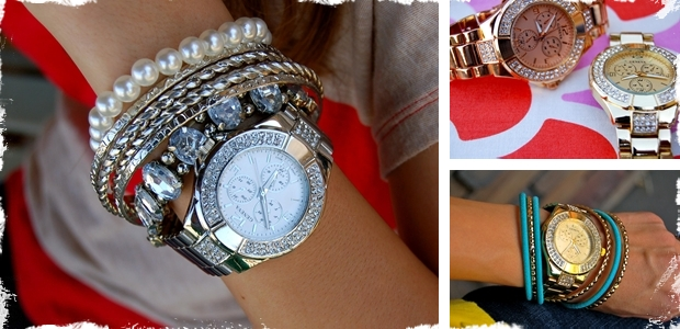 Beautiful Designer Inspired Watches - Similar to Michael Kors in Gold, Silver and Rose Gold!