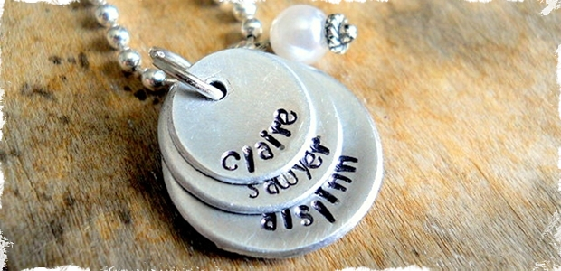 Love is All Around - Beautiful Personalized Mother Necklace!
