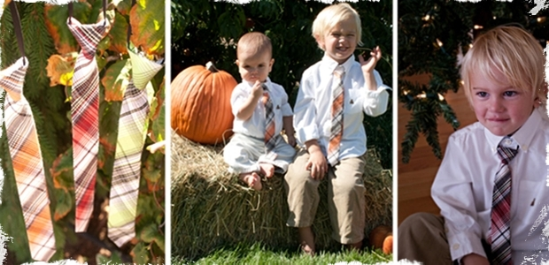 Little Boys Ties! Perfect for the Holidays! - 3 Color Choices!