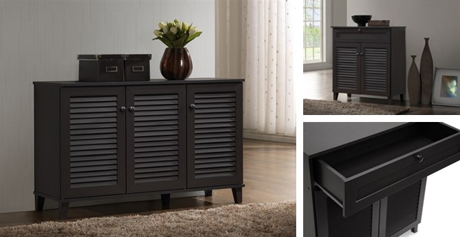 Free Shipping! | Warren Espresso Shoe-Storage Cabinet | Jane