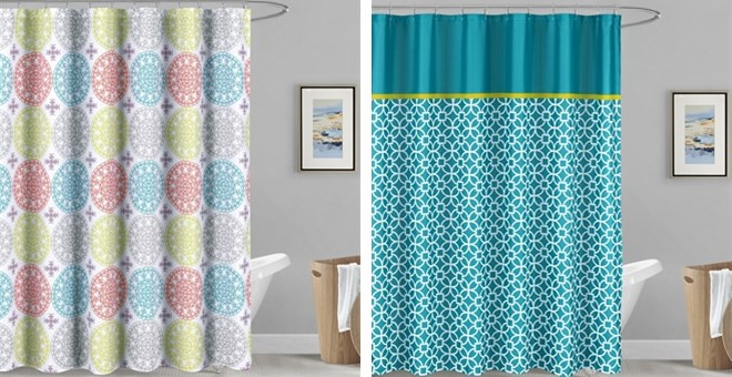 Modern Trendy Shower Curtains | Jane