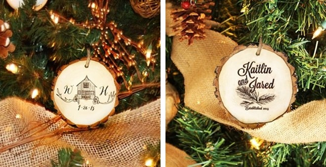 Personalized Christmas Photo Ornaments