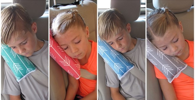 Arrow Travel Seatbelt Pillows Super Soft And Comfy Jane