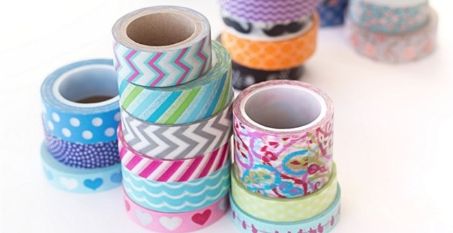 In case you were unaware, washi tape is decorative Japanese tape that crafters are completely OBSESSED with. It also has a magic power that makes everything it's stuck to the most adorable thing.
