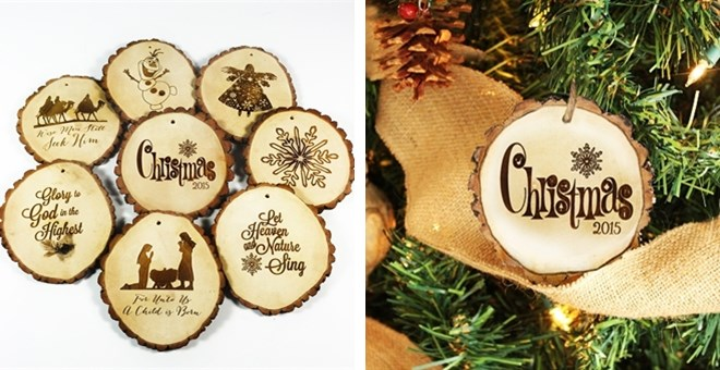 Picture Christmas Tree Ornaments