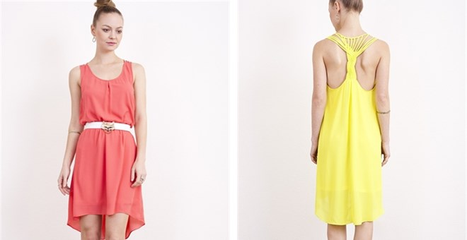 Knot So Basic High Low Dress 4 Colors