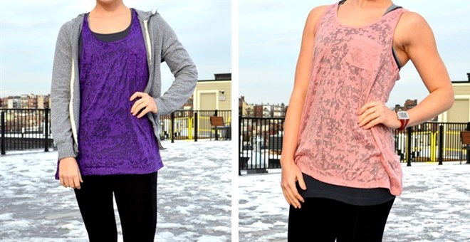 Burnout Workout Tanks and Tops – 3 Styles!